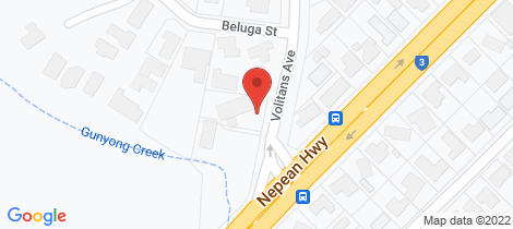 Location map for 86 Volitans Avenue Mount Eliza