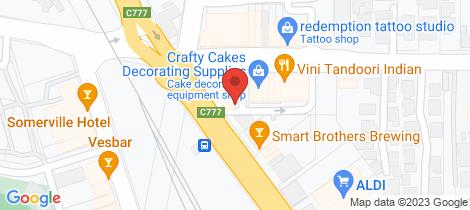 Location map for Shop 7/1065 Frankston Flinders Road Somerville