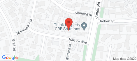 Location map for 4 Harrow Avenue Somerville