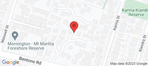 Location map for 10/99 Bentons Road Mornington