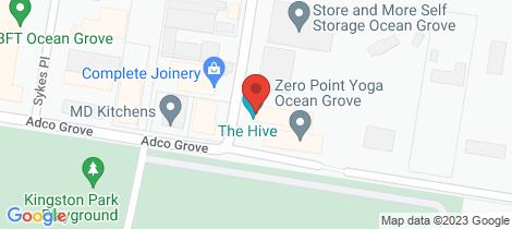 Location map for 3/39 Smithton Grove Ocean Grove