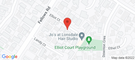 Location map for 6 Elliot Court Point Lonsdale