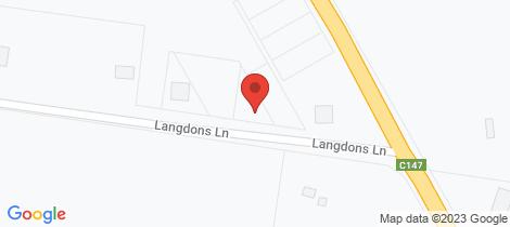 Location map for 8 Langdons Lane Cororooke