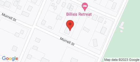 Location map for 10 Murrell Street Birregurra