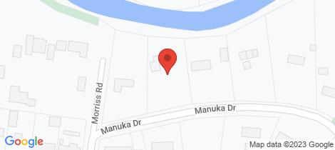 Location map for 4 Manuka Drive Warrnambool