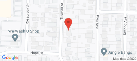 Location map for 21 Thomas Street Rosebud