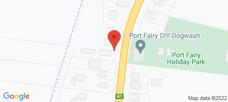 Location map for 1/142 Princes Highway Port Fairy