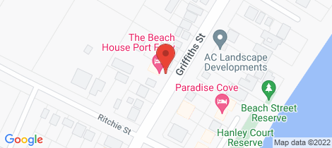 Location map for 159 Griffith Street Port Fairy