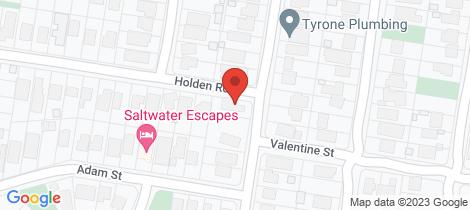 Location map for 18 Pardoner Road Rye
