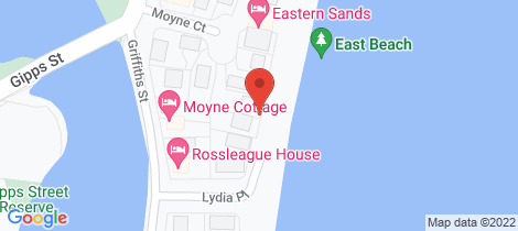Location map for 71 Beach Street Port Fairy