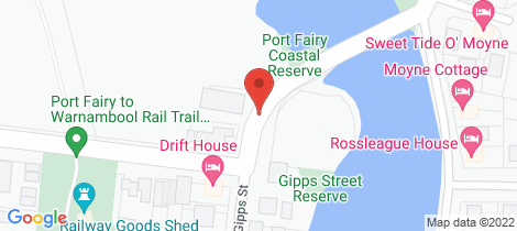 Location map for 1/102 GIPPS STREET Port Fairy