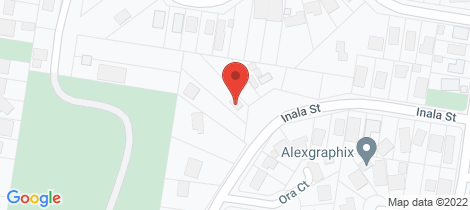 Location map for 20 Inala Street Rye