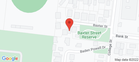 Location map for 4 Baxter Street Port Fairy