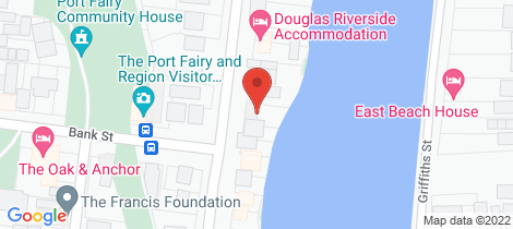 Location map for 77 Gipps Street Port Fairy