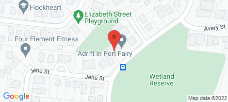 Location map for 41 Powling Street Port Fairy
