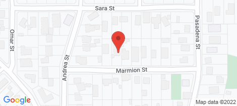 Location map for 12 Marmion Street Rye