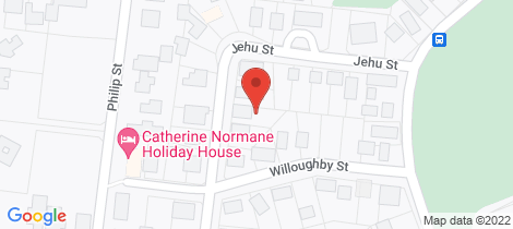 Location map for 22 Jehu Street Port Fairy