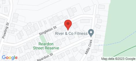 Location map for 7 Singleton Street Port Fairy