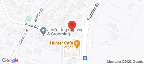 Location map for 356 Dundas Street Rye