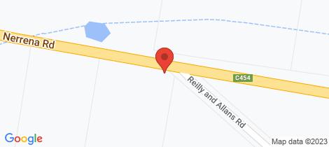 Location map for 830 Nerrena Road Nerrena