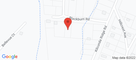Location map for 10 Blackburn Road Kilcunda