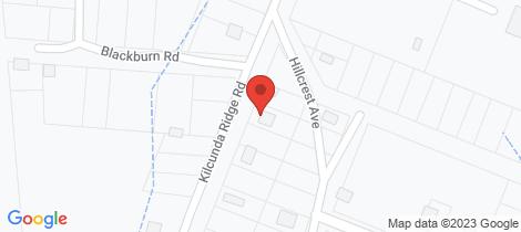 Location map for 33 Kilcunda Ridge Road Kilcunda
