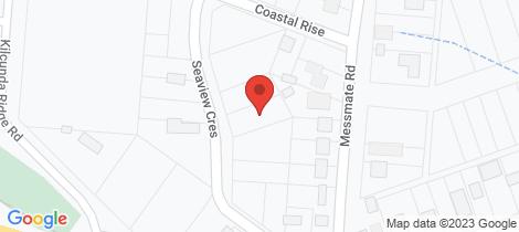 Location map for 5 Seaview Crescent Kilcunda