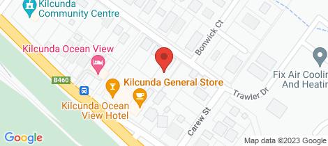 Location map for 8 Gruber Street Kilcunda