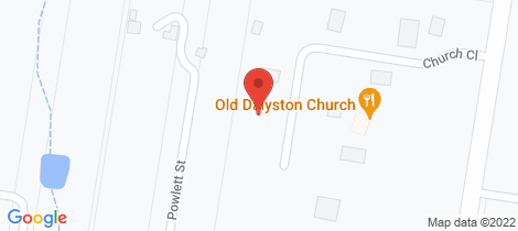 Location map for 24 Church Close Dalyston