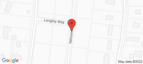 Location map for 67 Nelson Street Wonthaggi