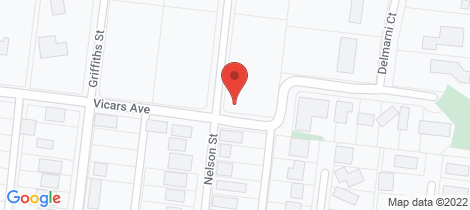 Location map for 37 Vicars Avenue Wonthaggi