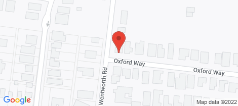 Location map for 82 Oxford Way Wonthaggi