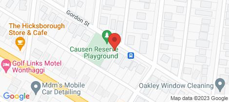 Location map for 1/31 Gordon Street Wonthaggi