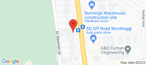 Location map for 2/137 McKenzie Street Wonthaggi