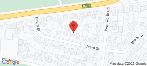Location map for 7 Beard Street Wonthaggi