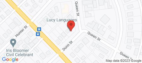 Location map for 6 Dunn Street Wonthaggi