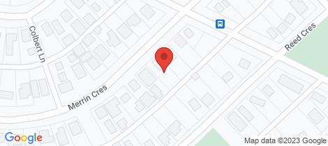 Location map for 63 Merrin Crescent Wonthaggi