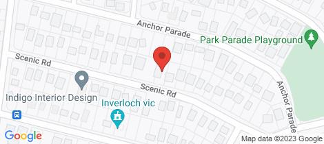 Location map for 26 SCENIC RD Cape Paterson