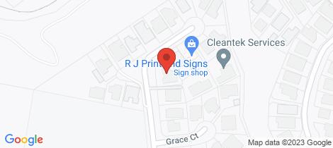 Location map for 19 Jiloa Way Don