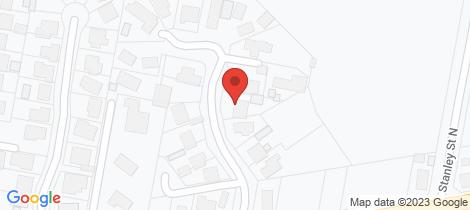 Location map for 7 Vincent Crescent Latrobe
