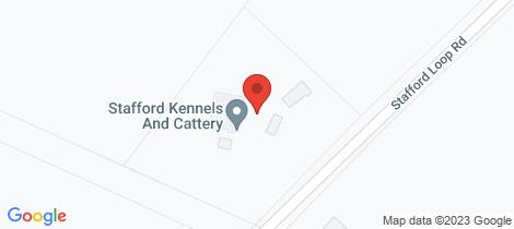 Location map for 259 Stafford Loop Road, Awatuna Hokitika
