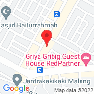 Google Map of -7.979505000000001, 112.66341899999998