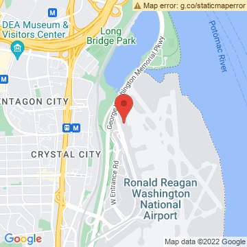 Google Map of 1 Aviation Circle, Washington, D.C. 20001