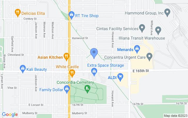 1001 165th St, Hammond, IN 46324, USA
