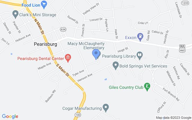 1001 Henson Ave, Pearisburg, VA 24134, USA