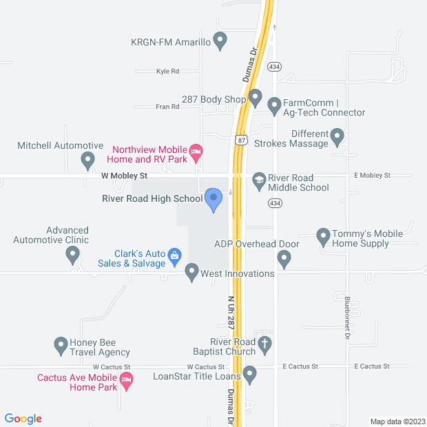 101 W Mobley St, Amarillo, TX 79108, USA