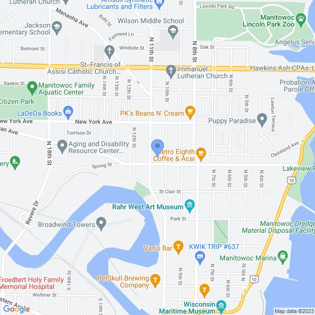 1010 Huron St, Manitowoc, WI 54220, USA