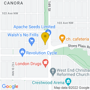 Map to Rendezvous Pub provided by Google