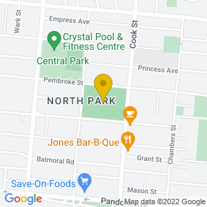 Map to Royal Athletic Park provided by Google