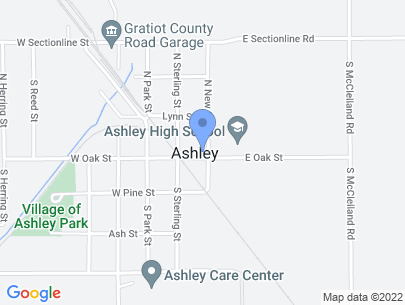 104 North New Street, Ashley, MI 48806, USA